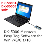 DK-5000 Easy Tag software